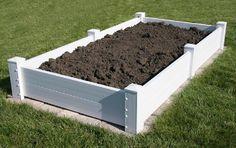PVC Raised Garden Bed | Vinyl Resin Construction | CompostMania.com