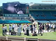 "Sikhs Rendered Kirtan at Cricketer Phillip Hughes's Funeral Ceremony on Australian Grounds  Sydney based Swamy Army, the widest reaching Indian sports fan club in the world, paid respect to Phillip Hughes by bidding him farewell in their tradition way of ""Antim Ardas""."