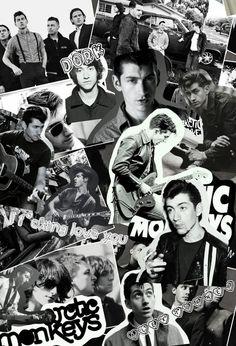 Alex Turner Arctic Monkeys Collage