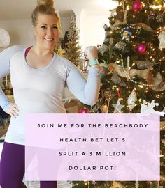 I am willing to place a HIGH STAKES bet. . Not on a football game not on the roll of the dice  but on YOU. . It's no coincidence that Beachbody is putting together their second ever Beachbody Health Bet starting on January 9th. Coinciding with that time of the year that EVERYONE is making the commitment to their health and fitness. And they are making it sweet - pledging a pot that can hit $3000000. THREE f&$ing MILLION DOLLARS. Jackpot! . And it is so simple. . 1. Commit: You were going to…