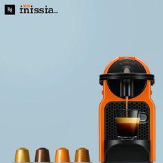 VIELFÄLTIGE FARBEN. EINZIGARTIGER GENUSS.Inissia, die neue Kaffeemaschine von Nespresso.