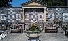 The New Main Wall, Manchester Crematorium, Barlow Moor Road, Manchester