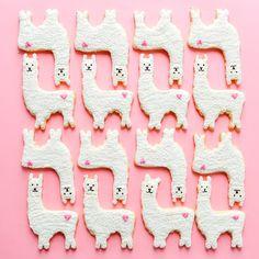 Llama Love Cookies