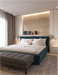 50 Inspiration to Create Your Best Modern Bedroom Design Romantic Bedroom Design, Simple Bedroom Design, Home Room Design, Master Bedroom Design, Master Bedroom Interior, Modern Master Bedroom, Modern Elegant Bedroom, Gold Bedroom, Bedroom Decorating Tips