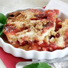 Cherry pineapple dump cake.