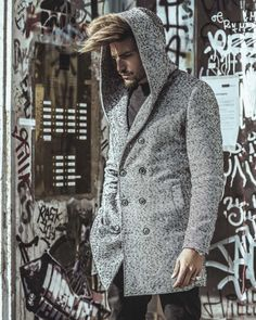 CELEBRATING A CULT – STREET STYLE HOODED COAT BY NOHOW | MDV Style | Street Style Magazine