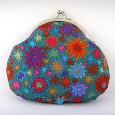 Kaffe Fassett Starflower Fabric Credit CardCoin Purse £8.50