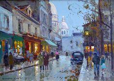 Eduard Cortes - À Montmartre