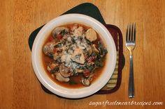 Chicken Tomato Spinach