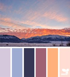 Color Horizon via @designseeds