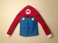 Mario Bro. hoodie. http://www.etsy.com/listing/129804147/nintendo-mario-bros-inspired-fleece
