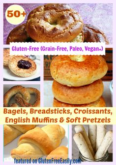 The best gluten-free bagel recipes, plus breadsticks, croissants, English…