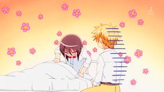"This clip got me into watching Kaichou wa Maid sama-- easily my most favorite! ""you big pervert, Usui! Ohhhh your hair... I always thought it'd feel more SPIKY!"" lol ^_^"