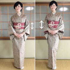 折って広げるだけ!帯の雰囲気がガラっと変わる幅だしのコツ   すなおの着付けコツのまとめ♪ Japanese Fabric, Japanese Kimono, Kimono Dress, Tea Ceremony, Yukata, Kimono Fashion, Hair Beauty, Feminine, Saree