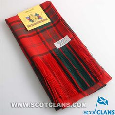 Clan Maxwell Tartan Sash: