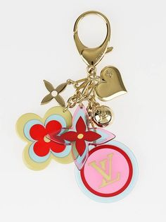 Louis Vuitton Multicolor Resin Candy Key Holder/Bag Charm