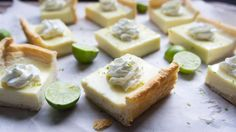Blogger Shawn Syphus of I Wash You Dry gives us a tangy treat by mashing up Key lime pie and cheesecake.