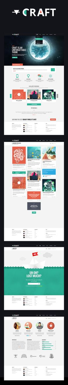 CRAFT #webdesign