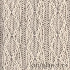 Patterns spoke: diamonds and stripes