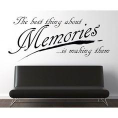 Memories - Emlékek : Idézetek - KaticaMatrica.hu - A minőségi falmatrica és faltetoválás webáruház