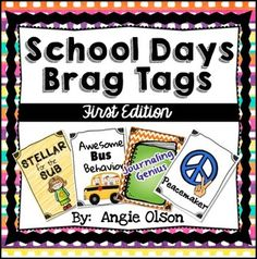 Brag tags are a great way to spice up your classroom behavior management system? They have changed the way my kids behave in my classroom! Behavior Management System, Classroom Behavior Management, Behavior System, Class Management, Behavior Incentives, Behavior Plans, Think Sheet, Brag Tags, Teaching Sight Words