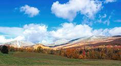 Discover the hidden secrets of Vermont folklore, myths, legends, ghost stories and haunted places in the Green Mountains. Green Mountain, Haunted Places, Ghost Stories, Deep Purple, Vermont, Over The Years, Famous People, Snow, Autumn