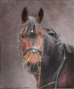 western decor equestrian art horses painting western art western
