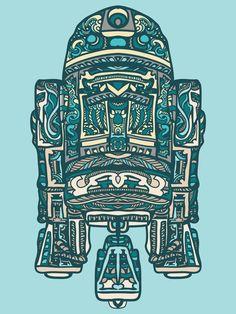 R2-D2.. Tattoo? or Wall art?..