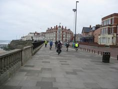 :: Whitley Bay - Cycling down the Promenade, near to Whitley Bay, North Tyneside, Great Britain by Alan Heardman Newcastle, Great Britain, Seaside, Travel Guide, Countries, Cycling, Coast, England, Street View