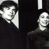 Rudolf Noureev, Margot Fonteyn, Frederick Ashton - 1961 - Photo : Michael Peto - University of Dundee Archives