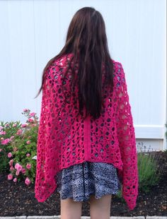 Summer shawl crochet stole cotton by BsCozyCottageCrafts on Etsy #integritytt
