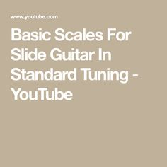 Basic Scales For Slide Guitar In Standard Tuning Music Lessons, Guitar Lessons, Guitar Exercises, Slide Guitar, Guitar Scales, Music Sing, Guitar Tips, Music Theory, Blues