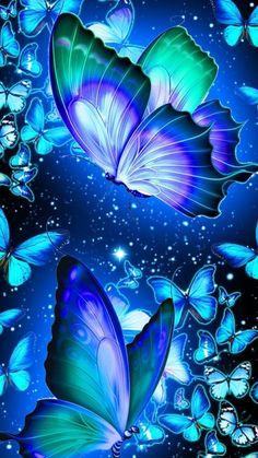 Purple Butterfly Wallpaper, Wallpaper Nature Flowers, Butterfly Background, Beautiful Landscape Wallpaper, Beautiful Flowers Wallpapers, Flower Phone Wallpaper, Butterfly Art, Cute Wallpapers, Butterflies