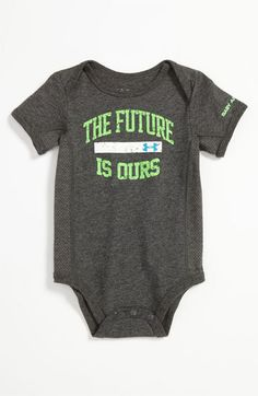 Under Armour 'Future Is Ours' Bodysuit (Infant) | Nordstrom