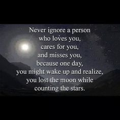 Never ignore a person who loves you...  #inspiration #motivation #wisdom #quote #quotes #life #love