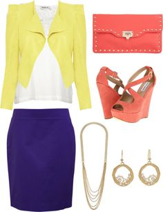 """Spring/ Summer Work Outfit"" by chelseawarner on Polyvore"
