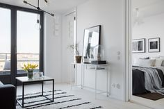 Ikea 'Vittsjö' console table