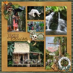 Jungle Cruise - Page 6 - MouseScrappers.com also might work for Zoo or Jungle or Rain Forest Cafe