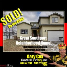 Sold at $345,000. For more Properties FOR SALE by the KING, visit http://alaskarealestateking.com/  Check out the King's reviews from happy clients http://www.zillow.com/profile/Gary-Cox-Realtor/Reviews/