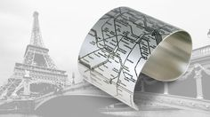{Paris Métro Cuff} I could've used this when I was there! I want this :)