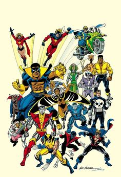 70s Marvel by Sal Buscema