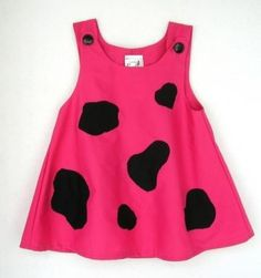 Pink Pebbles Flintstone Costume - Toddler by PeapodRay for $42.00