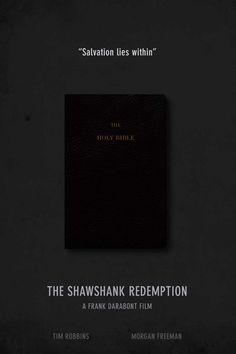 The Shawshank Redemption Minimal Movie Poster