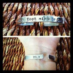 Marathon or Running  Bracelet.