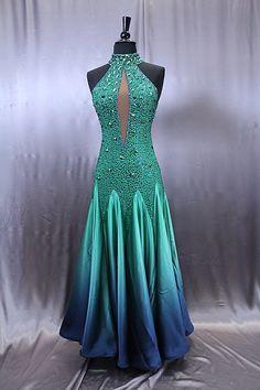 Artistry In Motion Julia Gorchakova Ballroom Costumes, Ballroom Dance Dresses, Ballroom Dancing, Beautiful Gowns, Beautiful Outfits, Dance Fashion, Dance Outfits, Costumes For Women, Dream Dress