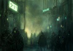 in a shadow of the cyberpunk _01 by ~DarkEnter on deviantART
