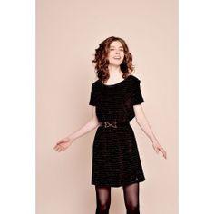 robe iloki noir @ DES PETITS HAUTS