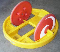 Marx Krazy Kar Spinning Ride on Toy c.1970 Big Wheel Classic