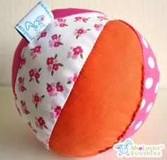 Soft Ball - Orange and Pink