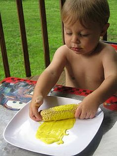 Corn Painting